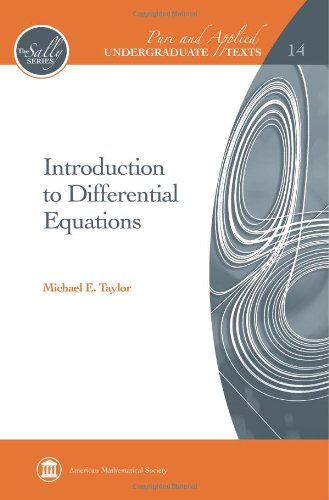 9780821852712: Introduction to Differential Equations (Pure and Applied Undergraduate Texts)