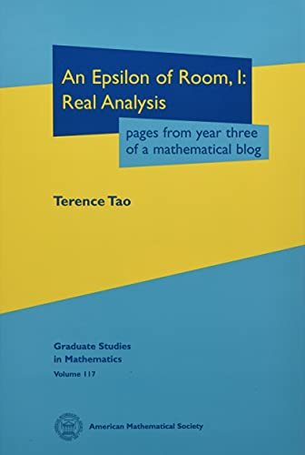 9780821852781: An Epsilon of Room, I: Pages from Year Three of a Mathematical Blog: A Textbook on Real Analysis (Graduate Studies in Mathematics)