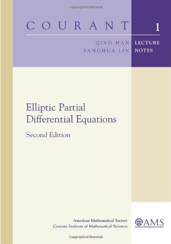 9780821853139: Elliptic Partial Differential Equations