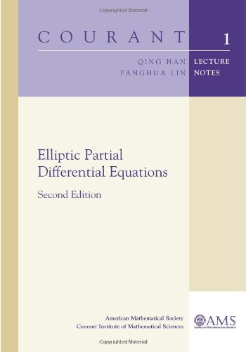 9780821853139: Elliptic Partial Differential Equations: Second Edition (Courant Lecture Notes)