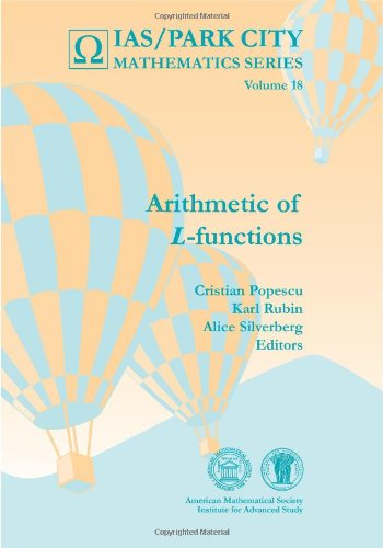9780821853207: Arithmetic of L-Functions