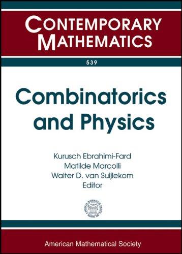 Combinatorics and Physics: Mini-workshop on Renormalization December: Amer Mathematical Society