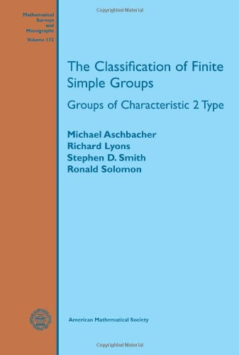 9780821853368: The Classification of Finite Simple Groups: Groups of Characteristic 2 Type (Mathematical Surveys and Monographs)