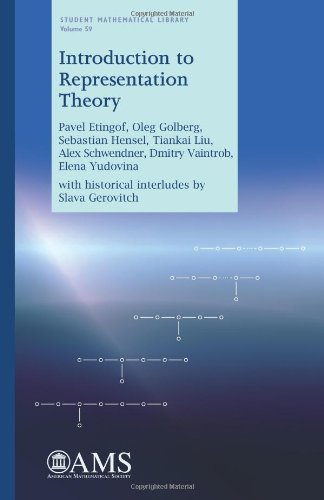 9780821853511: Introduction to Representation Theory (Student Mathematical Library)