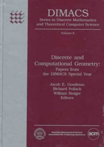 9780821865958: Discrete and Computational Geometry: Papers from the Dimacs Special Year (Dimacs : Series in Discrete Mathematics and Theoretical Computer Science,)