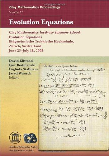 9780821868614: Evolution Equations (Clay Mathematics Proceedings)