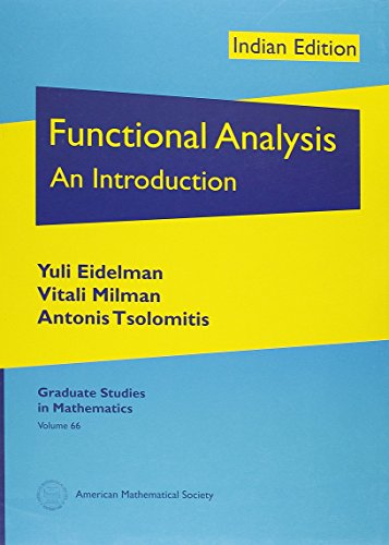 9780821868799: Functional Analysis: An Introduction