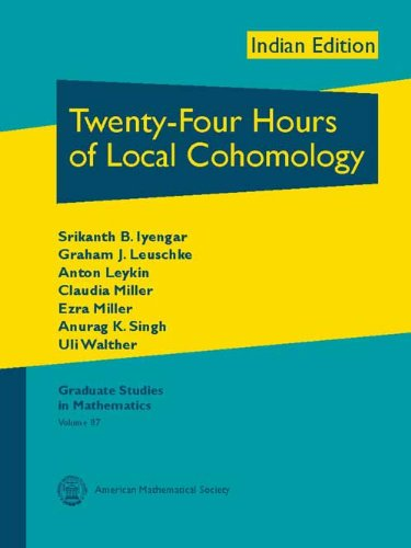 9780821868836: Twenty-Four Hours of Local Cohomology