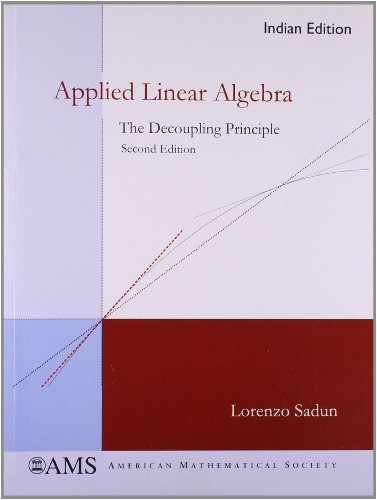 9780821868874: Applied Linear Algebra: The Decoupling Principle