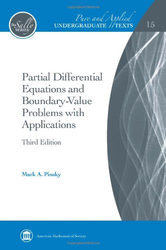 9780821868898: Partial Differential Equations and Boundary-value Problems With Applications (Pure and Applied Undergraduate Texts)