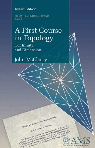 9780821868935: First Course in Topology, A: Continuity and Dimension