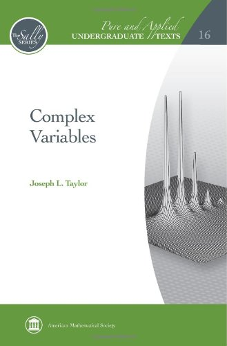 9780821869017: Complex Variables (Pure and Applied Undergraduate Texts)