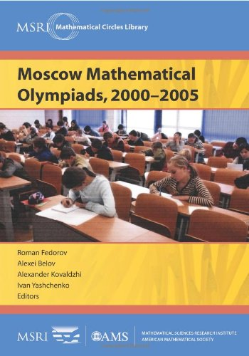 9780821869062: Moscow Mathematical Olympiads, 2000-2005