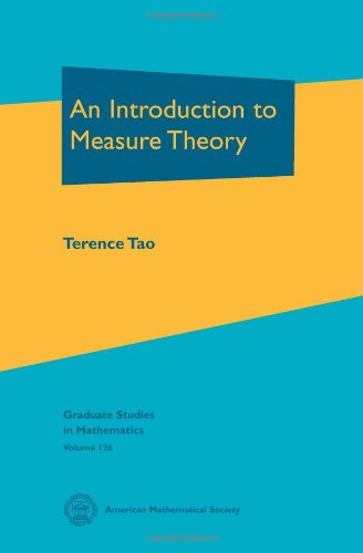 9780821869192: An Introduction to Measure Theory (Graduate Studies in Mathematics)