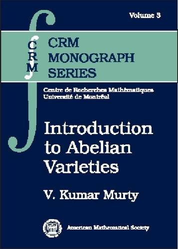 9780821869956: Introduction to Abelian Varieties (Crm Monograph Series)