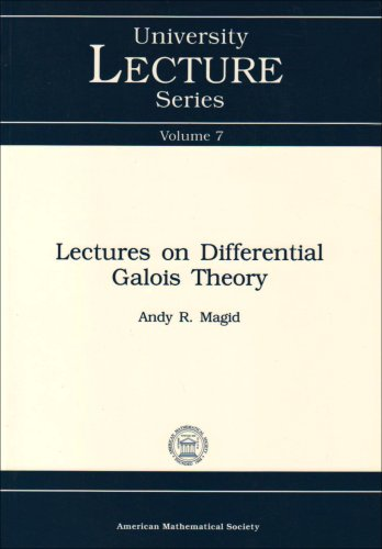 9780821870044: Lectures on Differential Galois Theory (University Lecture Series)