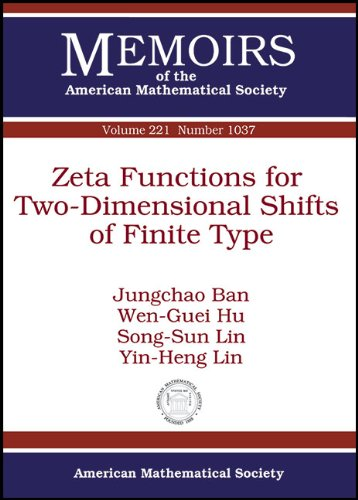 9780821872901: 221: Zeta Functions for Two-Dimensional Shifts of Finite Type (Memoirs of the American Mathematical Society: January 2013 (First of 5 Numbers))