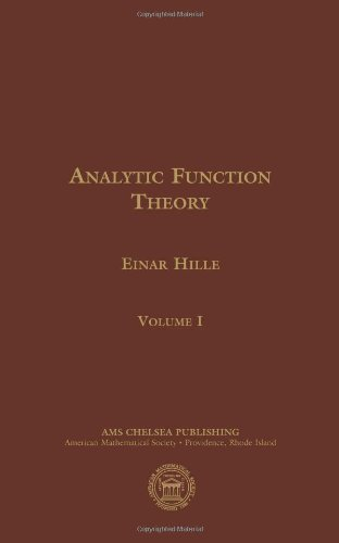 9780821875681: Analytic Function Theory