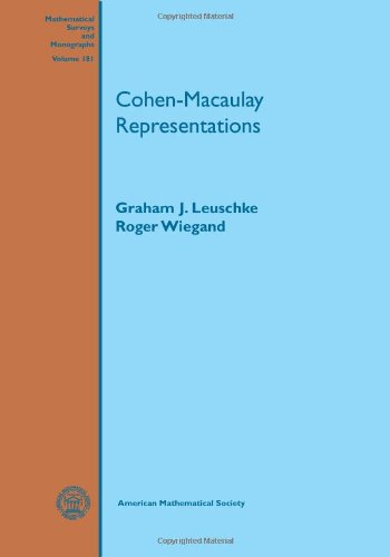 9780821875810: Cohen-Macaulay Representations (Mathematical Surveys and Monographs)