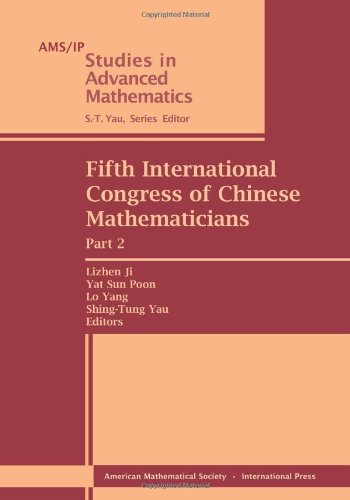 9780821875872: Fifth International Congress of Chinese Mathematicians (AMS/IP Studies in Advanced Mathematics)