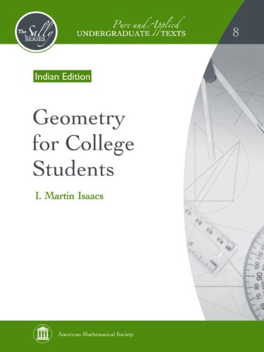 Geometry for College Students: I. Martin Isaacs