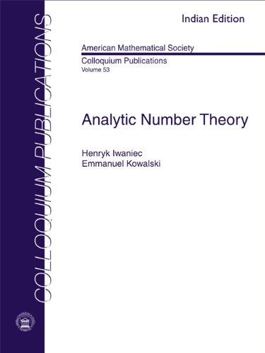 9780821887103: Analytic Number Theory