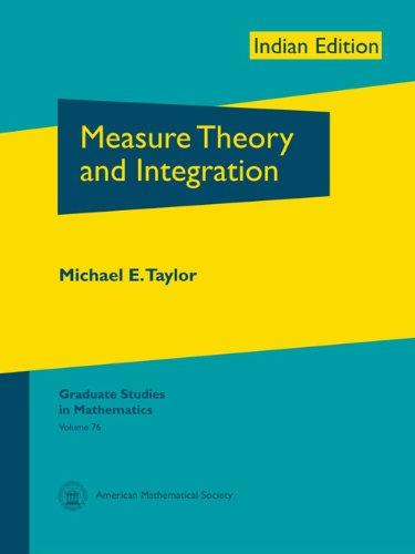 9780821887189: Measure Theory and Integration