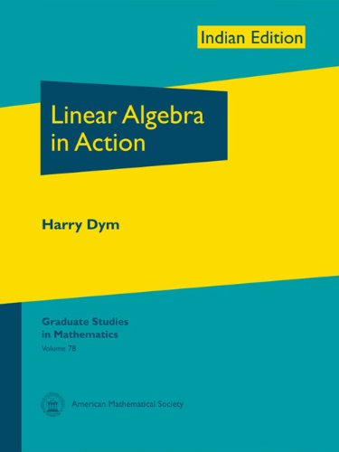 9780821887196: Linear Algebra In Action