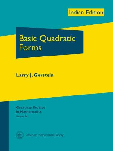 9780821887202: Basic Quadratic Forms