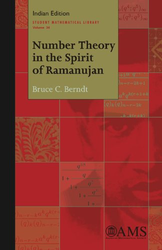 9780821887318: Number Theory in the Spirit of Ramanujan