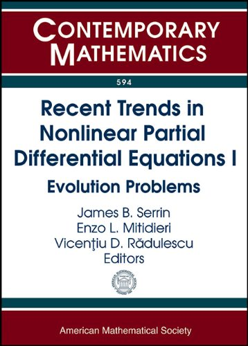 Recent Trends in Nonlinear Partial Differential Equations: Amer Mathematical Society