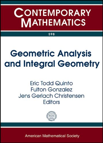 Geometric Analysis and Integral Geometry: AMS Special: Amer Mathematical Society