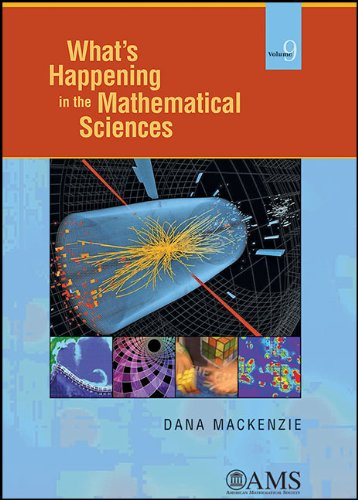 9780821887394: What's Happening in the Mathematical Sciences, Volume 9 (What's Happening in the Mathermatical Sciences)