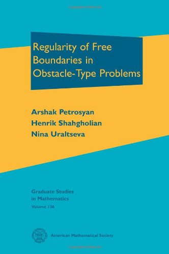 9780821887943: Regularity of Free Boundaries in Obstacle-type Problems (Graduate Studies in Mathematics)