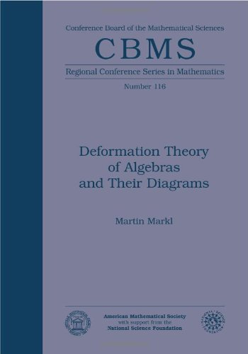 9780821889794: Deformation Theory of Algebras and Their Diagrams (CBMS Regional Conference Series in Mathematics)