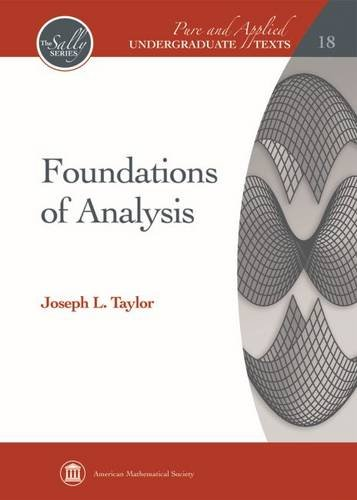 9780821889848: Foundations of Analysis (Pure and Applied Undergraduate Texts: Sally)