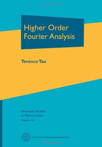 9780821889862: Higher Order Fourier Analysis (Graduate Studies in Mathematics 142)