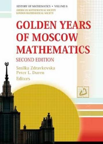 9780821890035: Golden Years of Moscow Mathematics