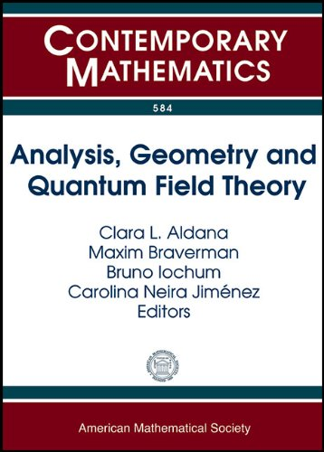 Analysis Geometry & Quantum Field Theory: Clara Aldana
