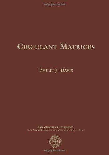 9780821891650: Circulant Matrices: Second Edition (American Mathematica Society)