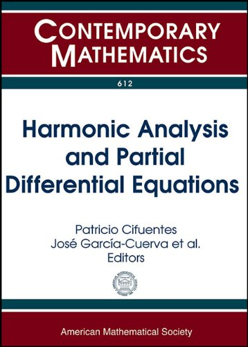 9780821894330: Harmonic Analysis and Partial Differential Equations (Contemporary Mathematics)