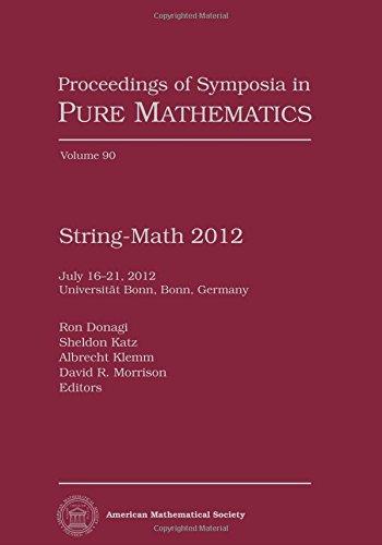 9780821894958: String-math 2012
