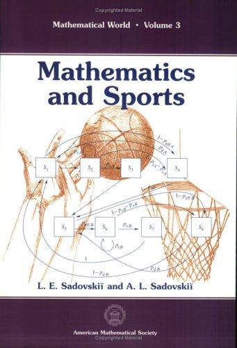 9780821895009: Mathematics and Sports (Mathematical World)