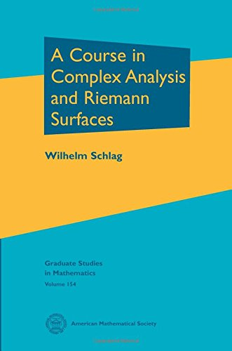 9780821898475: A Course in Complex Analysis and Riemann Surfaces (Graduate Studies in Mathematics)