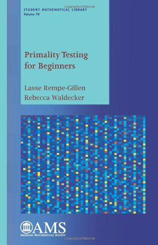 9780821898833: Primality Testing for Beginners