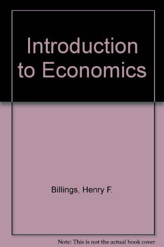9780821904992: Introduction to Economics