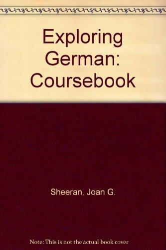 Exploring German (082191197X) by Sheeran, Joan G.; McCarthy, J. Patrick