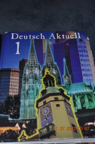 9780821914496: Deutsch Aktuell 1