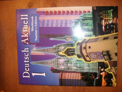 9780821914779: Deutsch Aktuell One: Teacher's Edition Workbook