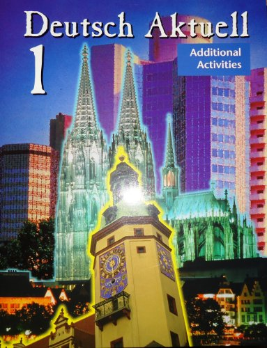 9780821915233: Deutsch Aktuell 1: Additional Activities (Teacher's Edition)